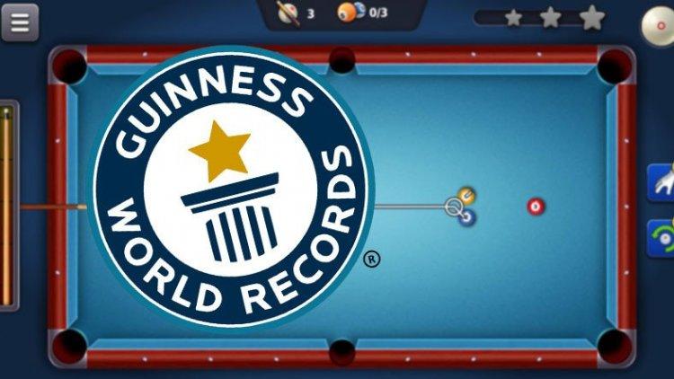 8 Ball Pool, Guinness Rekorlar Kitabı'na Adını Yazdırmayı Başardı